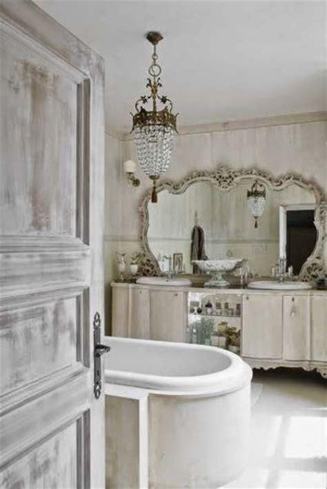 shabby chic bathroom mirror 26 adorable shabby chic bathroom d 233 cor ideas shelterness
