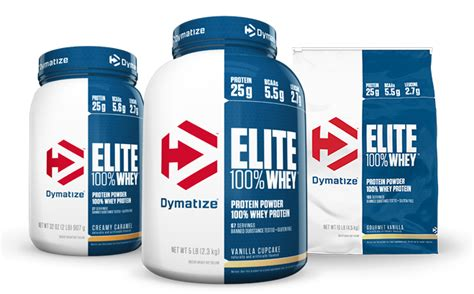 Dymatize Elite Whey Protein Isolate 5 Lb elite 100 whey protein by dymatize at bodybuilding