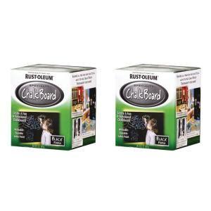 rust oleum specialty specialty 1 qt chalkboard black
