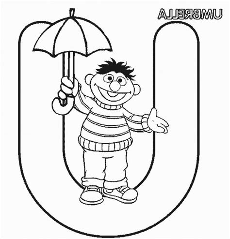 U Coloring Pages by Letter U Coloring Pages Coloring Home