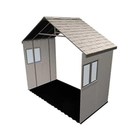 shop lifetime products 11 ft x 5 ft resin storage shed