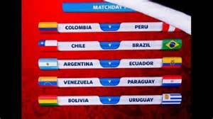 Calendario Eliminatorias Brasil 2018 Calendario Completo Eliminatorias Sudamericanas Rumbo A