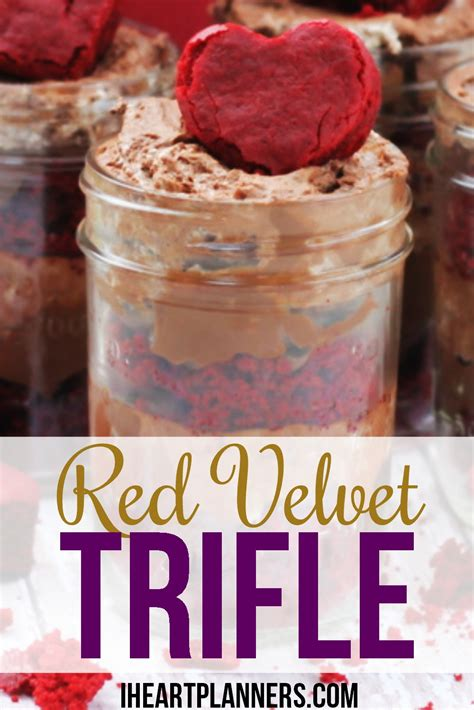 valentines pudding s day trifle in jar