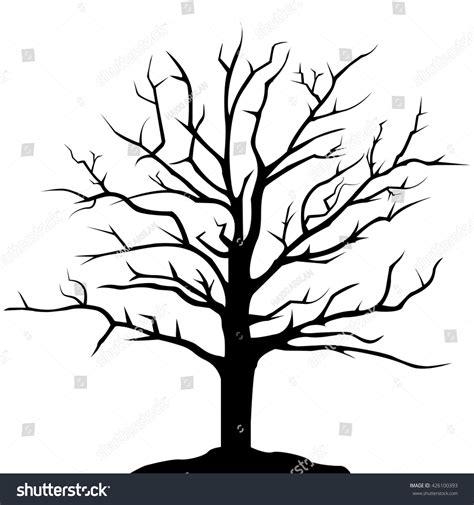 tree drawing simple simple tree silhouette vector www pixshark images