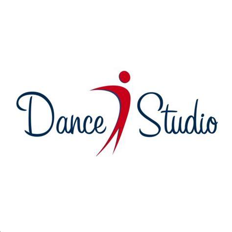design studio logo vector templates set of dance studio logos design vector 01 vector logo