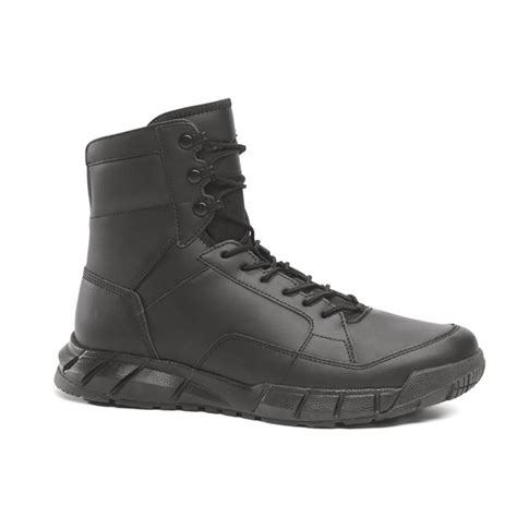 black boot oakley si light assault leather boot black