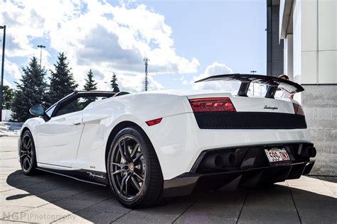 White Lamborghini Gallardo Convertible Lamborghini Gallardo Lp570 4 Spider Performante Cabriolet