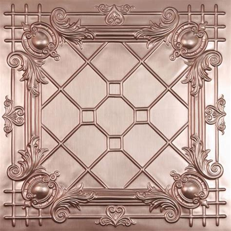 Copper Tin Ceiling Tiles by Bentley Copper Ceiling Tiles