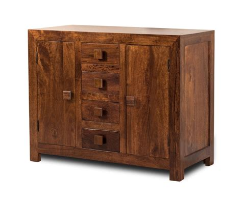solid mango wood sideboard small casa bella furniture uk