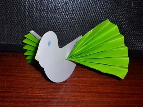 Paper Folding Activity For Kindergarten - paper bird my kid craft
