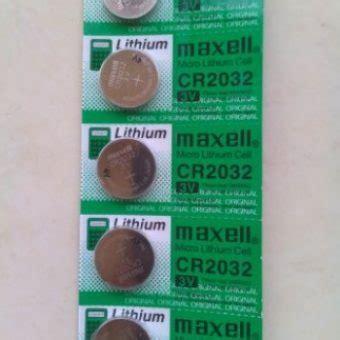 Baterai Cr2032 baterai cr2032 maxell 3v bibitbunga