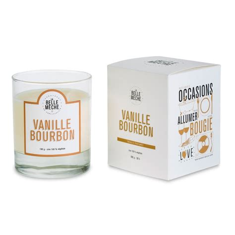 Vanilla Candles by Vanilla Bourbon Scented Candle A Light Vanilla With