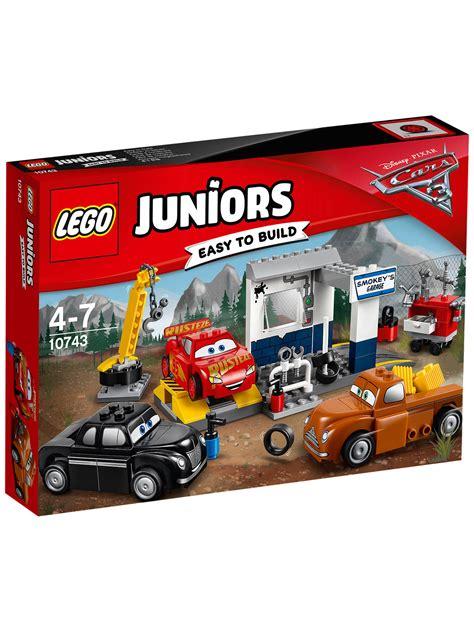 Disney Pixar Cars 3 Smokey lego juniors disney pixar cars 3 10743 smokey s garage at