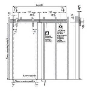 Barn Door Dimensions Sliding Barn Door Sizes Bedroom Design