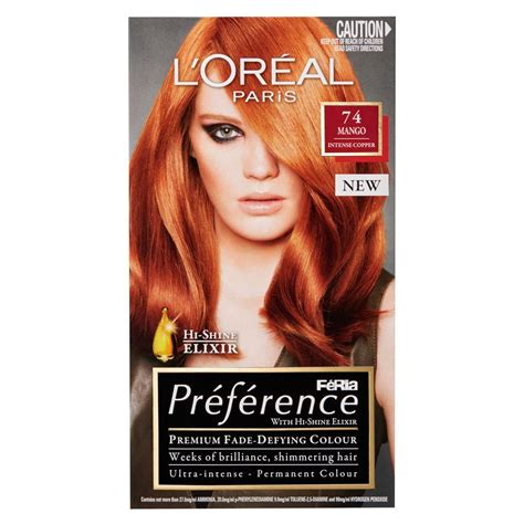 Loreal Feria buy feria preference 74 mango 1 pack by l or 233 al