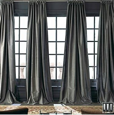 charcoal drapes a big ol sexy charcoal silk curtain casa ideas pinterest