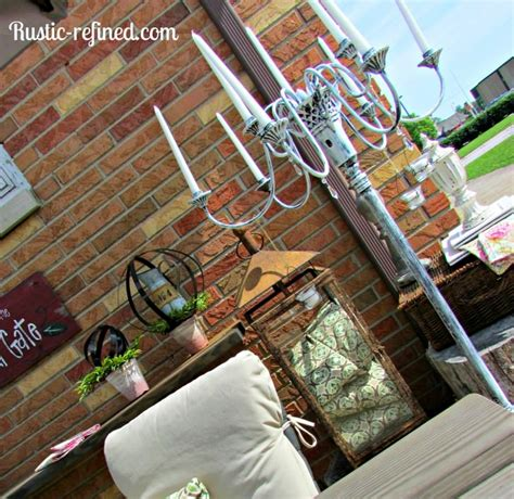 how to make a candle chandelier how to make an outdoor candle chandelier 1001 gardens