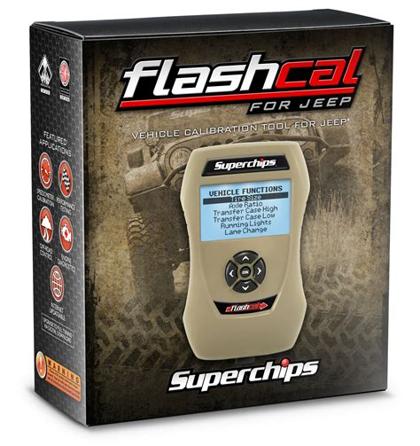 jeep superchips superchips flashcal programmer for 07 15 jeep wrangler jk