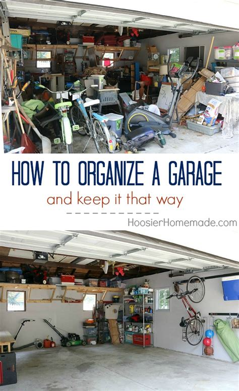 how to organize a garage how to organize a garage creating zones hoosier
