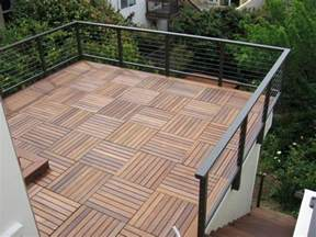 ipe roof deck tiles decking pinterest