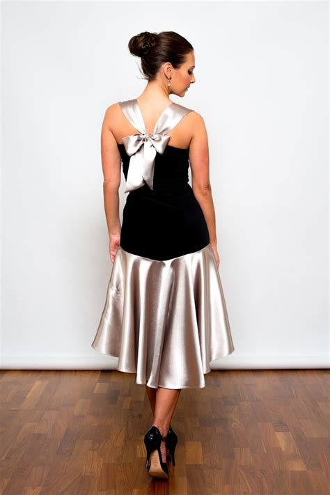 Glamours Dress clothing dresses fashion made in the uk satin