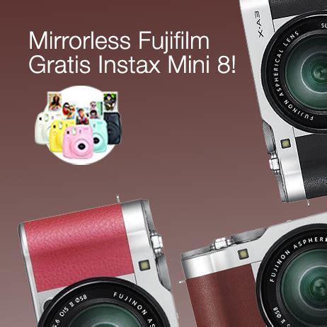 Kamera Fujifilm Lazada kamera mirrorless lazada