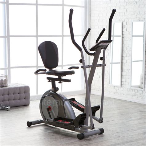 Chair Bicycle Exercise Machine by Trio Trainer Elliptical Machine Magnetic Recumbent