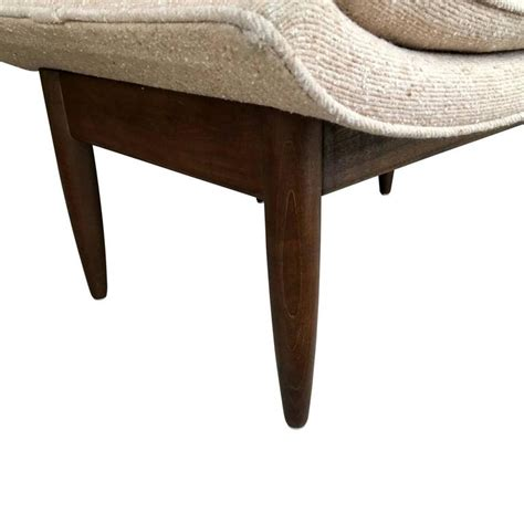 High Ottoman Adrian Pearsall High Back Lounge Chair And Ottoman At 1stdibs