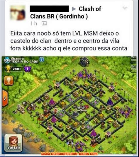 clash of clans dicas gemas gr tis tutoriais e layouts humor em clash of clans 16 clash of clans dicas