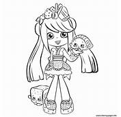 Cute Shopkins Shoppies Season 5 Coloring Pages Printable