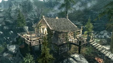 where to buy houses in skyrim skyrim mod review nyyrikki player home for rangers and hunters by elianora youtube