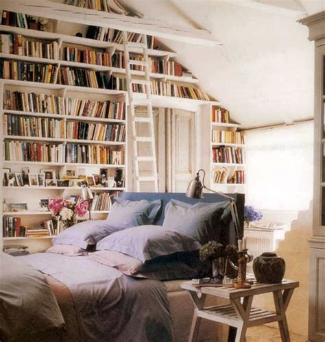 Library Bedroom | design caller selected spaces library bedroom books