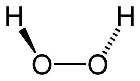 h2o2 diagram file hydrogen peroxide 2d png