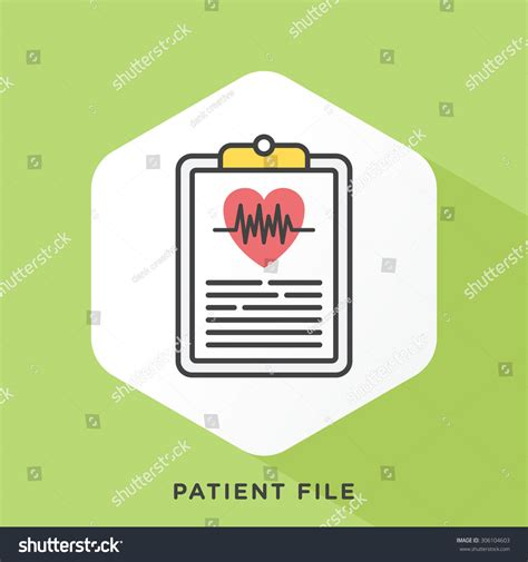 Outline Offset Color by Ekg Icon Grey Outline Offset Stock Vector 306104603
