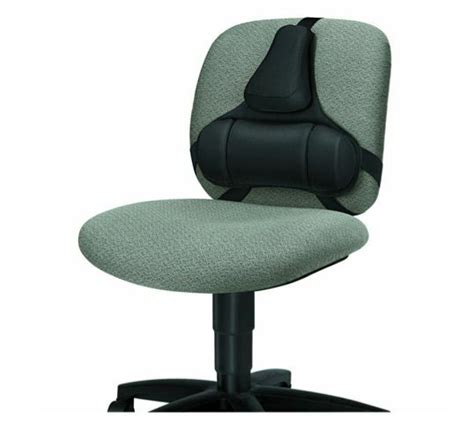 support black office chair  lumbar posture corrector therapy pain ebay