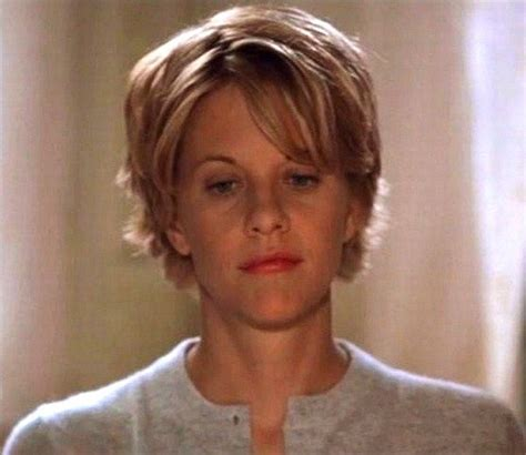 meg ryan in you ve got mail hair choices pinterest