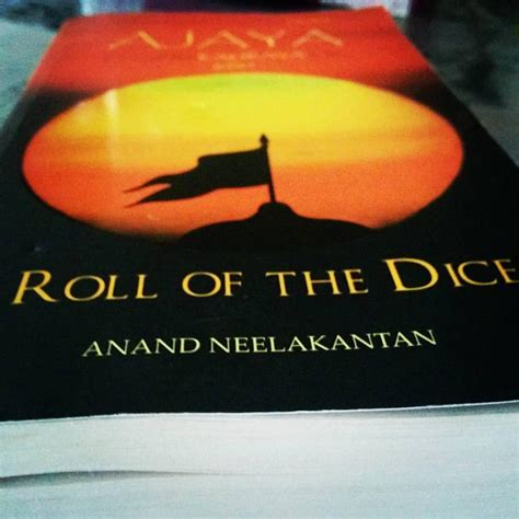 roll the dice books review of roll of the dice by anand neelakantan finix post