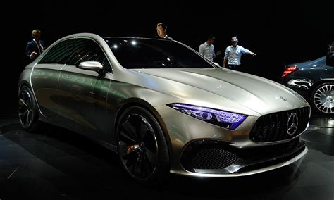 merecedes usa mercedes hints at new styling with sedan concept