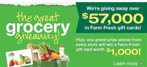 Food Lion Free Grocery Giveaway - farm fresh great grocery giveaway plus a 20 gift card giveaway the coupon challenge