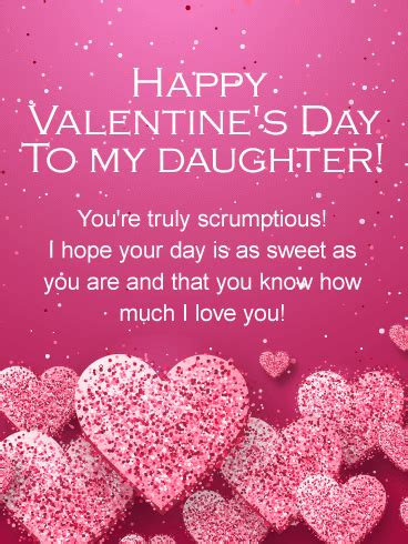 valentines for daughters s day cards 2019 happy s day