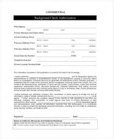 background check authorization form template background check form template background check