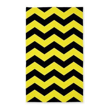 black and yellow rug 3 x5 black and yellow chevron rug rugs
