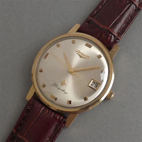 longines flagship 10k gold filled vintage gents 1966
