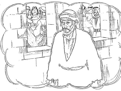 Parable Of The Prodigal Son Coloring Pages Prodigal Coloring Page
