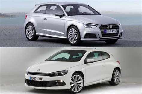 Is Audi Volkswagen by Audi A3 Three Door And Volkswagen Scirocco Axed In Uk