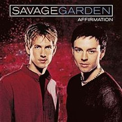 affirmation savage garden album