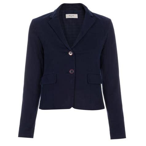 Jaket Crop Navy Jaket Hoodie Wanita Sweater Hoodie Diskon lyst paul smith cropped cotton blazer in blue