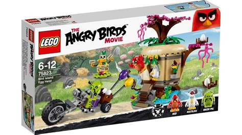Angry Birds Lego 75823 bird island egg heist products lego 174 the angry