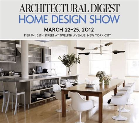 architectural digest home design show hours explore the 2012 architectural digest home design show
