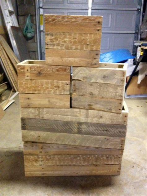 Caisse De Rangement En Bois 772 by From Pallets To Functional Crates Pallets Crates